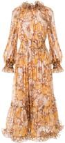 Zimmermann Super Eight floral-print midi dress