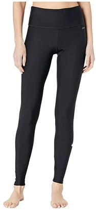 Nike Slim Fit Swim Leggings (Black) Women's Swimwear