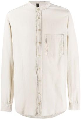 Poème Bohémien Mandarin Collar Buttoned Shirt