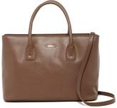 Furla Josi Medium Leather Convertible Shoulder Bag