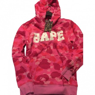 A Bathing Ape Pink Polyester Knitwear