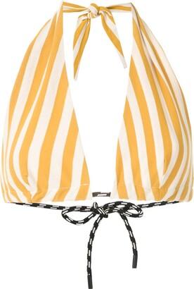 OSKLEN Summer Stripe cropepd top