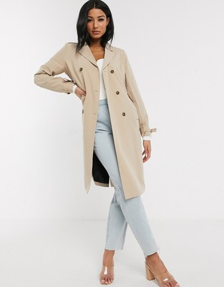 UNIQUE21 belted trench in sand