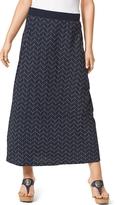 Tommy Hilfiger Chevron Maxi Skirt