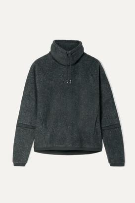 Nike Therma Mélange Fleece Turtleneck Sweatshirt - Charcoal