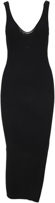 Helmut Lang Fitted V-Neck Dress