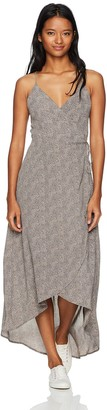 Lucy-Love Lucy Love Women's Alter Your Mood Wrap Dress