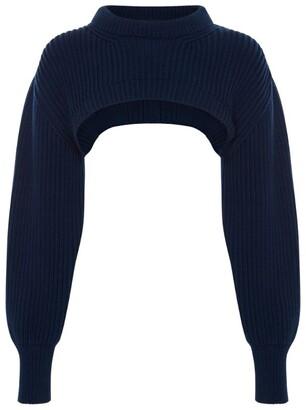 Alexander McQueen Cropped Sweater