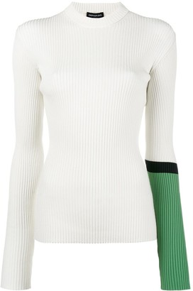 Calvin Klein Ribbed Slim Fit Sweater