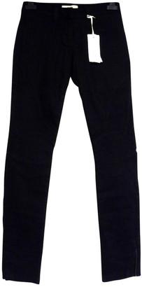 Bel Air Black Cotton Jeans for Women