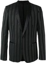 The Kooples gold striped blazer - men - Polyester/Spandex/Elastane/Viscose/Cotton - 50