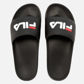 Fila Drifter Slider Sandals - Black Red/White