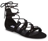 Steve Madden Women's Carleigh Ghillie Gladiator Sandal