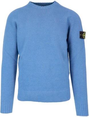 Stone Island 100% Wool Sweater