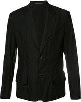 Yohji Yamamoto slouched blazer - men - Cotton - 2