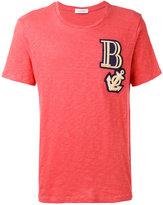 Pierre Balmain anchor patch T-shirt - men - Cotton - 48