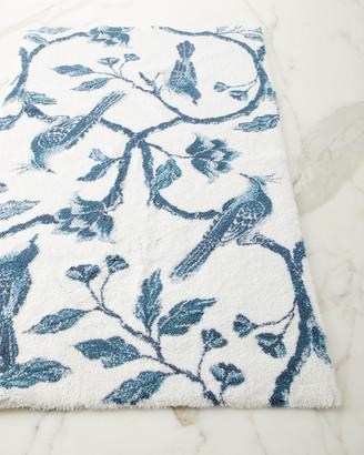 Habidecor Abyss & Blue Bird Bath Rug