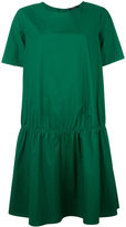 Odeeh gathered T-shirt dress - women - Cotton - 36