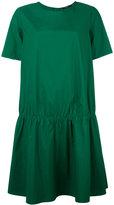 Odeeh gathered T-shirt dress - women - Cotton - 38