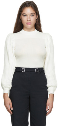 Proenza Schouler White White Label Knit Pleated Sweater