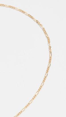 Ariel Gordon 14k Gold Figaro Anklet