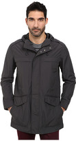 Cole Haan Garment Washed Cotton/Nylon Anorak with High-Low Hem