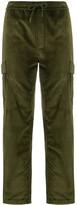 Maharishi velvet cargo pants