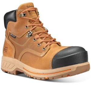 """Timberland Men's Helix Pro 6"""" Composite Toe Waterproof Boots Men's Shoes"""