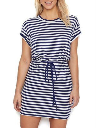 Pour Moi? Stripe Jersey Cover-Up