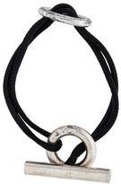 Hermes Chaîne d'Ancre Cord Toggle Bracelet