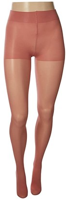 Hue Sheer Tights with Control Top (Black) Control Top Hose