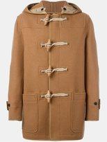 Burberry hooded duffle coat