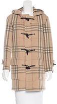 Burberry Wool Nova Check Coat