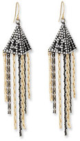 Lulu Frost Nell Chain Fringe Drop Earrings