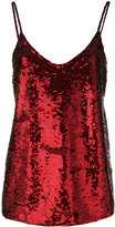 P.A.R.O.S.H. sequin cami top