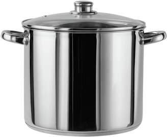 Argos Home 11 Litre Stainless Steel Stock Pot