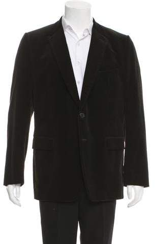Dries Van Noten Corduroy Two-button Blazer