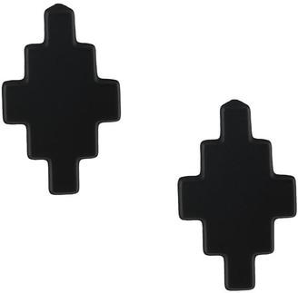 Marcelo Burlon County of Milan Logo Stud Earrings