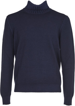 Tagliatore Blue Turtleneck