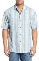 Tommy Bahama Men's Big & Tall Ombre Garcia Silk Blend Camp Shirt