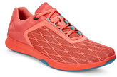 Ecco Coral Blush Exceed Sport Leather Sneaker - Women