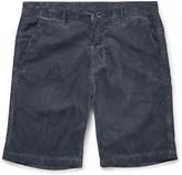 Massimo Alba - Vela Cotton-corduroy Shorts