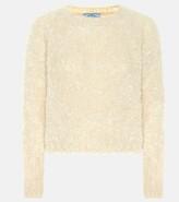 Prada Mohair, cashmere and silk sweater