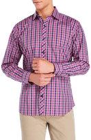 Jared Lang Plaid Woven Shirt