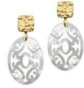 Annaflor The Oriental Drop Earrings Gold