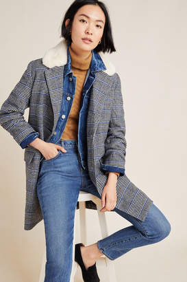 Levi's Amaya Plaid Coat