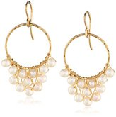 Nashelle 14k Gold with Freshwater-Pearl Cluster Earrings