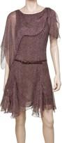 Max Studio Draped Shoulder Dress