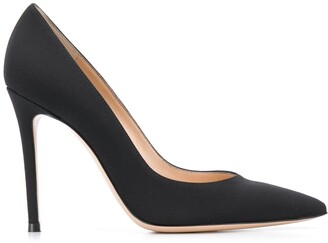 Gianvito Rossi Suede-Effect 105mm Pumps