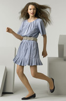 'Board Walk' Pleated Dress
